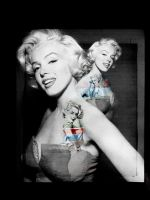 Marilyn Monroe - print by all-rumours