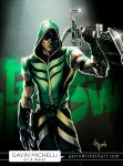 Green Arrow from Smallville by GavinMichelli