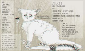 Me0cha reference sheet 2015 by Isvana
