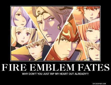 Fire Emblem Fates Demotivational Poster 2 by snowcloud8