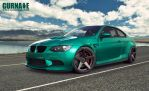 BMW M3 E92 by Gurnade