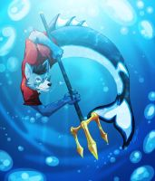Red! Wolf Of The Sea by theredknight100