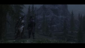 'Tis a Dark and Weary Path You Walk... by Digipup4life