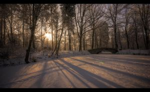 Winter scenery... 3 by PawelJG
