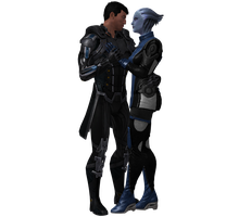 Liara and Troy Preview by Wolvengra