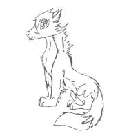 Fox lineart for pickaboo175 by dolphin4dreamer
