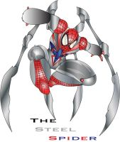 The Steel spider by Ziza53