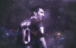 Messi - Wallpaper by Leo10thebest