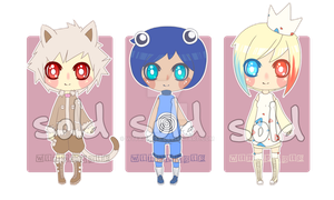 Pokemon Gijinka adoptables [CLOSED] by WTFadopts