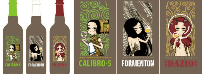 Beer labels by BelialMadHatter