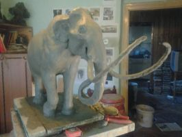 Steppe Mammoth WIP 3.1 by Waspdrake