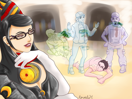 Bayonetta-BSC-Group Picture by FragGrrl