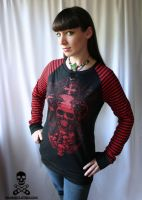 demon skull stripe d-ring top2 by smarmy-clothes