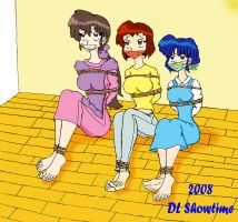 The Sisters Tendo by DLShowtime