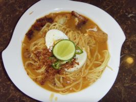 Mee Rebus by Gexon