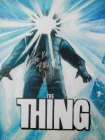 JOHN CARPENTER'S THE THING SIGNED by BUMCHEEKS2