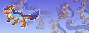 Xeshasaurus FB Banner ~ Comission for Xeshaire by RIOPerla