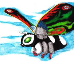 Mothra Leo by Lersso