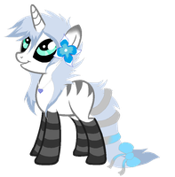 SilverSapphire Pony Auction QUICK AUCTION 2 HOURS by SquidPup