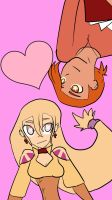 Happy V-Day 2015 Card Mikah and Rapre by timestoneauthor203