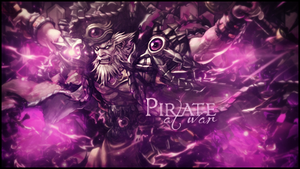 Pirate at War by rafdesigns