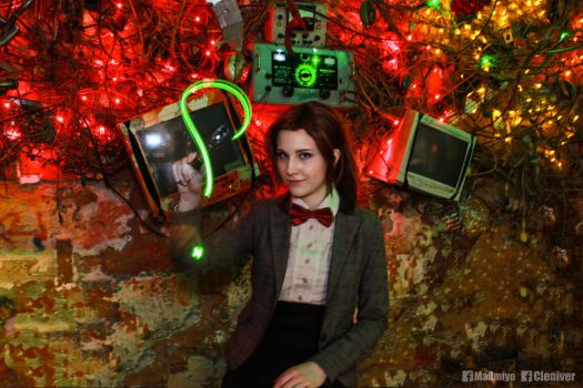 Female Eleventh Doctor by Cleniver