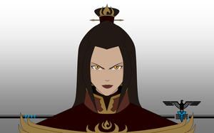 Fire Lord Azula by sauronmrc