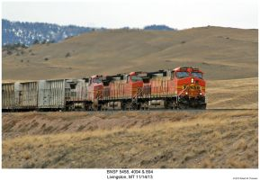 BNSF 5458, 4094 + 894 by hunter1828
