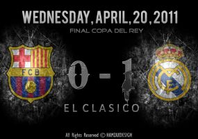Barcelona 0 - 1 Real Madrid by lechham