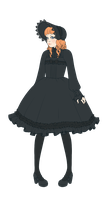 Gothic Lolita outfit. by popze