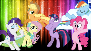 A Compilation of FIM Mane Six by StarCatcherZ