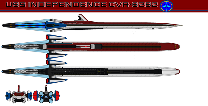 USS independence CVR-6262 by bagera3005