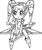 Coloring page 1 by CandyArtist