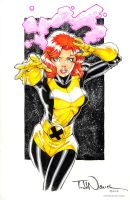 Jean Grey, Marvel Girl, X-Men. by ToddNauck