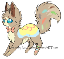 Fox Adoptable - Auction CLOSED by DelennOfMir