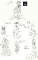 Winetta's Fashion Contest 14 by anelphia