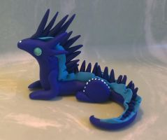 Spiky Blue! by Airy-Styles