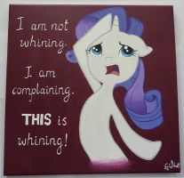 Rarity Whining by dashingrainbow2012