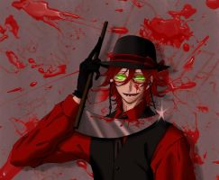 Killer Grell by StickieBun13