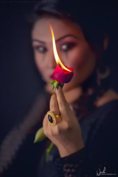 Flame of Love by Koustubh-Dhar-Wrick