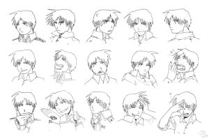 Roy Mustang Studies by patronustrip