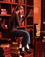Book Worm by vaia