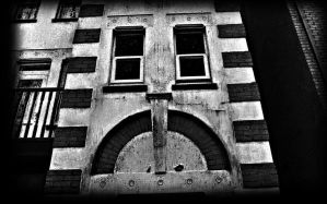 sad building by awjay