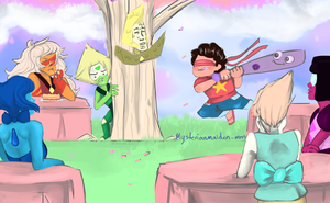 Happy Birthday, Steven! by mysteriousMaiden-MM
