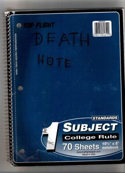 Top Flight Deathnote by Nightcrawler-babe