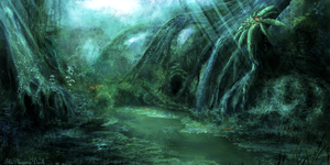 Alien Swamp by JKRoots