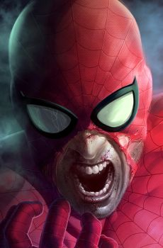 SpiderMan extreme makeover by Rennee