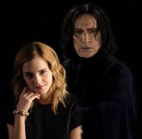 Severus Snape Hermione Granger by SnapeHeir