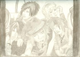 Alice Nine completed by PyroRaveHeart71