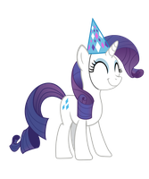 Rarity in a party hat by stricer555